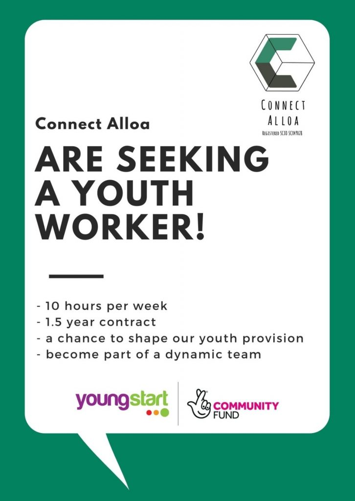 youth worker job advert